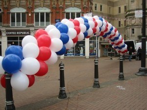 Balloon arch with 24""