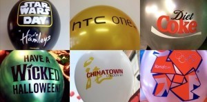 Printed Balloon Samples