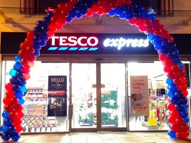 Tesco Store Arch