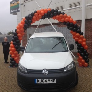 Car Balloon Arch