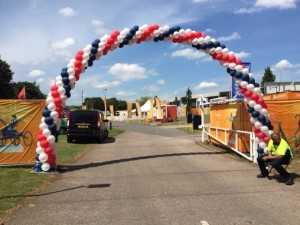 UK balloon arch