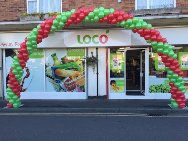 Loco Shop Arch in Telford