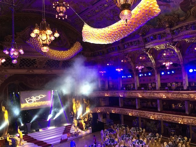 Blackpool Tower Ballroom Drop