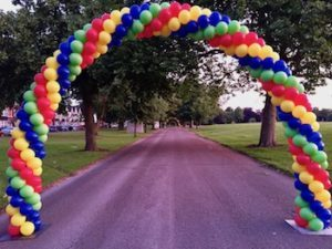 Balloon Arches Are A Fantastic, Cost Effective Way To Decorate A Stage,  Retail Outlet Or Race Mile Marker. We Can Build An Arch Outside Or Inside  With Air ...
